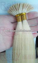2013 top quality hot sell cheapU tip pre bonded hair Italian glue brazilian remy hair Kertain U tip hair