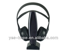 fashionable 2.4g wireless headset for mps