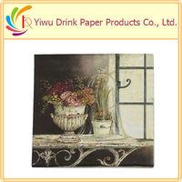 2013 Color Printed hot selling napkin supplier in dubai