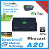 dual core android tv set top box allwinner a20