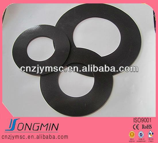 customized isotropic ring shape magnetic sheet