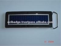 Digital Programmable LED Belt Buckle for Sale