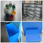 Plastic moving boxes sale