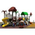 2013 play land tamanho adulto playground slide plástico pirata prazer parque para venda ao ar livre equipamentos de playground passeio de diversões