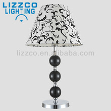 Contemporary White pattern Shade Desk Lamp