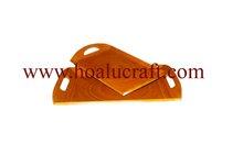 Press Bamboo Orange oil Painting Plate