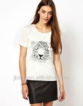 Hot sell custom oem women t-shirt