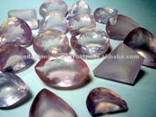 Rose Quartz Facet Cut Loose Gemstone