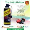 air compressor with tire sealant