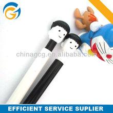 Hot Selling Cartoon Boy Stylus Ball Pen