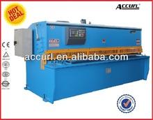 Export to Europe QC12Y-4x4000 E200 Iron Sheet Hydraulic Shearing Machine