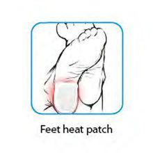health & medical warm pad/feet warm patch