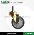 laiton seule roue de roulette médicaux