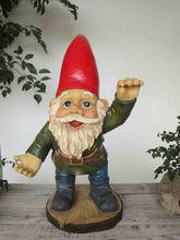 cute action decoration resin hug dwarf figurine