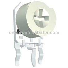 6mm preset potentiometer,vertical typle,with cover,pitch:5*2.5mm