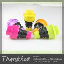 Colourful Plastic Wine Bottles Stopper