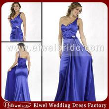073 Fashion One Shoulder Taffeta Beach Wear Evening Cocktail Party Dress
