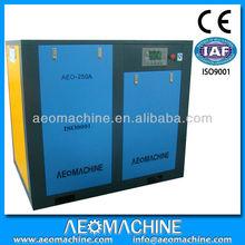 Sale! PLC control energy saving 10-350HP ac power air compressor/quite screw air compressor