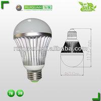 Dongguan led casing plastic pc cover led bulbs