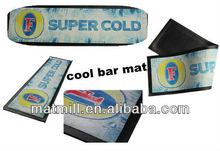 Hottest bar supplier pro Liquid Saving Rubber felt bar mat bar counter mat for sale