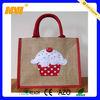 high quality handmade hessian bags(NV-J066)