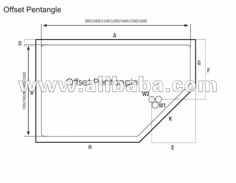 Piatti doccia piatti doccia id prodotto 135204172 italian - Piatto doccia triangolare ...