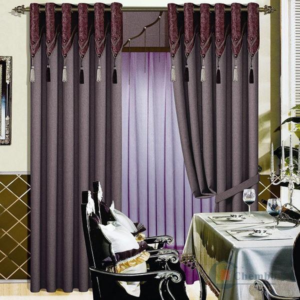 nouveaux mod les de rideau pour le salon rideaux id du. Black Bedroom Furniture Sets. Home Design Ideas