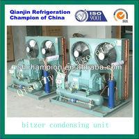 refrigerant R404 condensing unit