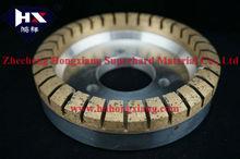 glass diamond wheel, resin bond and metal bond grinding wheel