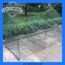 pvc coated wire mesh gabion box