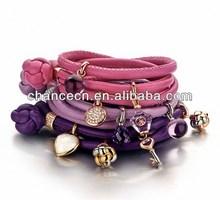 Leather turquoise bracelet handmade leather bracelet ideas high quality vintage leather bracelet