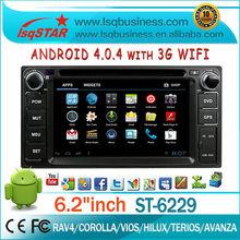 For dealer! android Multimedia for Toyota RAV4 with GPS,Radio,BT,DTV,APP,3G,WIFI. Hot!