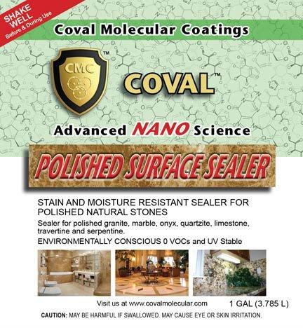 Coval Polished Surface Sealer