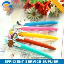 Hot ! Color Cartoon Clip Plastic Ball Pen