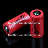TrustFire 16340 imr battery 3.7v ecig e-firefly battery 700mAh 16340 mod battery