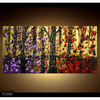 Handmade Contemporary decorative landscape oil painting on canvas, Family Tree-trees