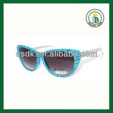promotional custom print logo print colorful carnival sunglasses