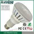 tanto estándar y regulable están disponibles 12w r80 e27 led de la lámpara