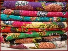 Wholesale kantha quilt, handmade Vinatge kantha quilts, Indian vintage kantha quilts