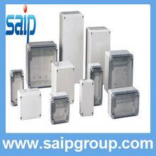 thin rectangular clear plastic enclosure