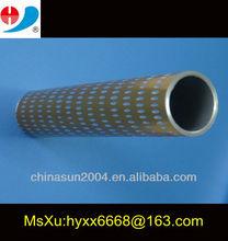Aluminum profiles tube engrave
