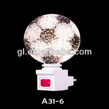 220v ball shape e12 night light white color