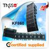 subwoofer line magnetic guide system line array audio loudspeaker