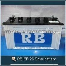 High Quality RB EB 25 12V Deep Cycle Solar Battery