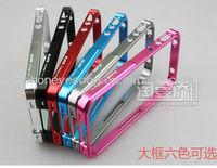 Metal Aluminum Bumper Case for iphone 4 4G ,Case for iphone 4