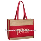 JUTE COLORED handbags on sale