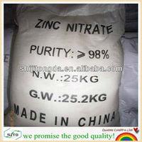 china manufacturer !!! zinc nitrate industrial Zn(NO3)2.6H2O