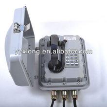 outdoor telephone flush wall mount box anti-explosion grade Exd II CT6