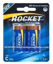 Hot Selling 1.5V C LR14 Alkaline Dry Cell Battery