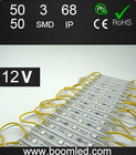 energy saving yellow 5050 led module